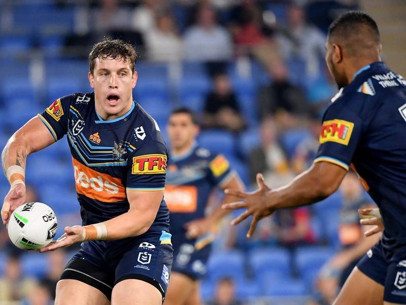Jarrod Wallace will be a key member of a strengthened forward pack at NRL club Gold Coast.