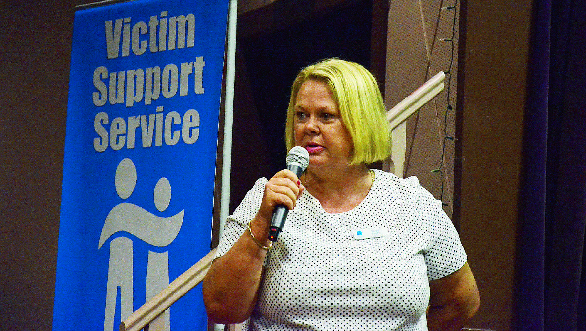 DOMESTIC VIOLENCE: Limestone Coast Domestic Violence Service manager Susie Smith said it is important for those living in small regional communities to know that the service is available. Photo: SANDRA MORELLO.